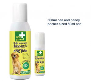 PooGuard 50ml and 300ml