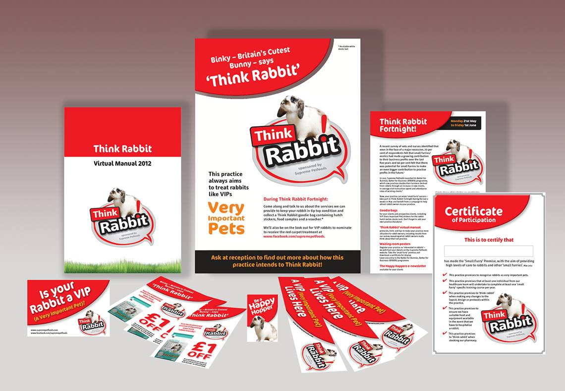 Think Rabbit Campaign