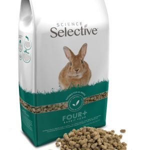 Supreme introduce new 3kg pack sizes of Selective Rabbit 4+ and Selective Rat and Mouse food