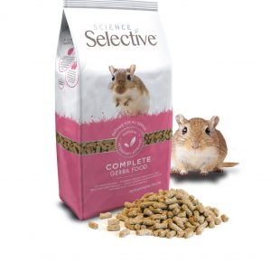 Supreme adds new premium gerbil food within the Science Selective range