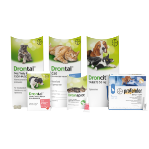 Vetoquinol completes acquisition of Profender® and Drontal® wormers